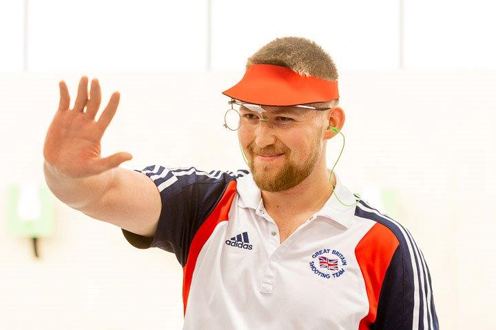 Kristian Callaghan Fort Benning USA ISSF World Cup Pistol Mtg